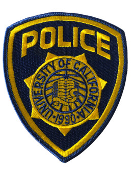 UNIV. OF CALIFONIA  POLICE PATCH