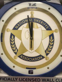 NATIONAL SHERIFFS ASSOCIATION Wall Clock