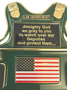 SHERIFF'S PRAYER VEST COIN