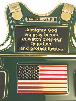 SHERIFF'S PRAYER VEST COIN