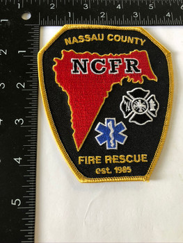 NASSAU COUNTY FIRE FLORIDA PATCH