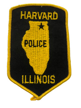 HARVARD POLICE  IL PATCH FREE SHIPPING