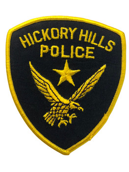 HICKORY HILLS POLICE  IL PATCH FREE SHIPPING