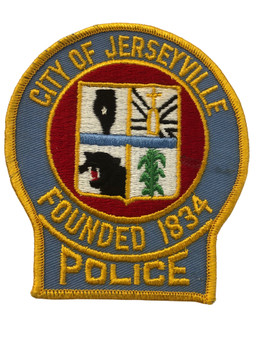 JERSEYVILLE  POLICE  IL PATCH FREE SHIPPING