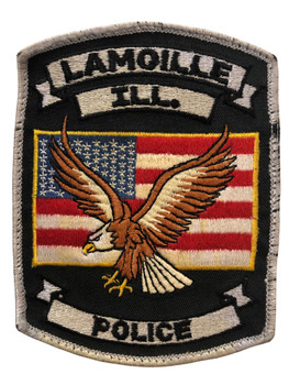 LAMOILLE   POLICE  IL PATCH FREE SHIPPING