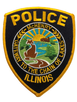 McHENRY POLICE  IL PATCH FREE SHIPPING