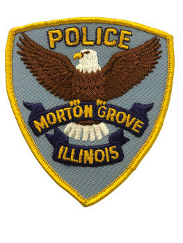 MORTON GROVE IL  POLICE PATCH #2 FREE SHIPPING