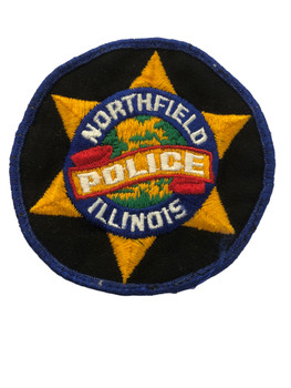 NORTHFIELD  IL POLICE PATCH FREE SHIPPING