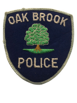 OAK BROOK  IL POLICE PATCH FREE SHIPPING
