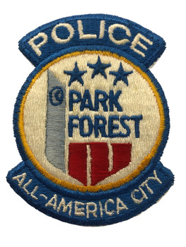 PARK FOREST  IL POLICE PATCH FREE SHIPPING
