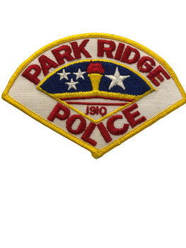 PARK RIDGE  IL POLICE PATCH FREE SHIPPING