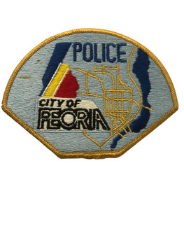 PEORIA  IL POLICE PATCH FREE SHIPPING
