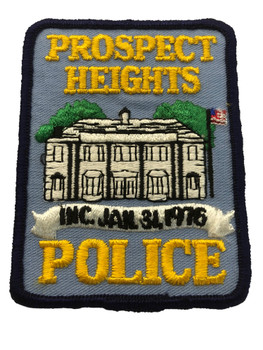 PROSPECT HEIGHTS  IL POLICE PATCH FREE SHIPPING