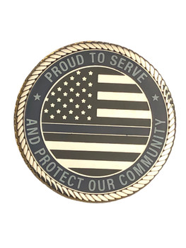 ORMOND BEACH FL POLICE COIN