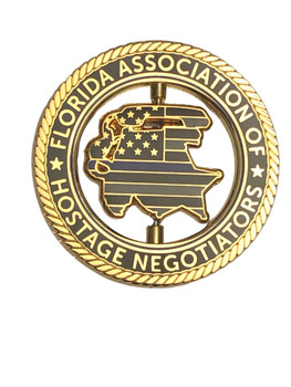 FL ASSOC. OF HOSTAGE NEGOTIATORS SPINNER COIN