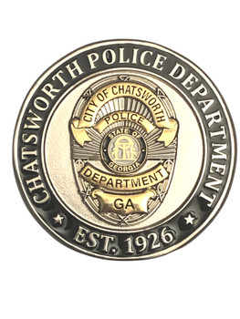 CHATSWORTH POLICE GA COIN