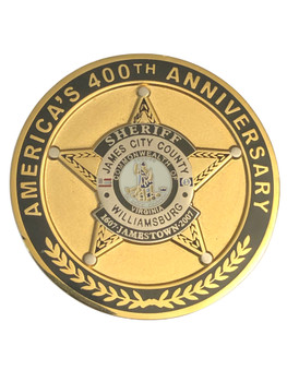 JAMES CITY COUNTY SHERIFF POLICE VA COIN