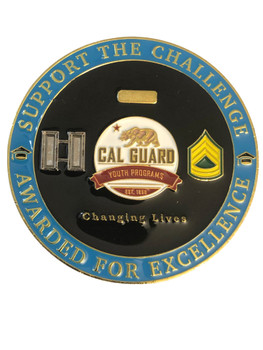 CALIFONIA JOBS CHALLENGE COIN