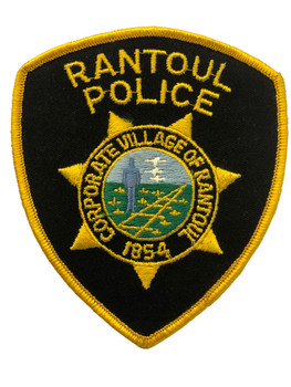 RANTOUL  IL POLICE PATCH FREE SHIPPING