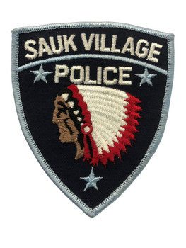 SAUK VILLAGE  IL POLICE PATCH FREE SHIPPING