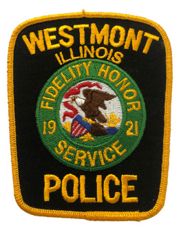 WESTMONT  IL POLICE PATCH FREE SHIPPING