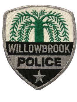 WILLOWBROOK  IL POLICE PATCH FREE SHIPPING