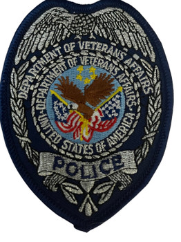 DEPT. OF VETERANS AFFAIRS POLICE BADGE PATCH