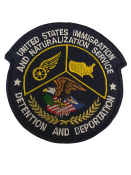 US IMMIGRATION DETENTION DEPORTATION POLICE PATCH