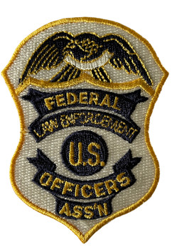 FEDERAL LAW ENFORCEMENT OFFICERS ASSN. POLICE PATCH