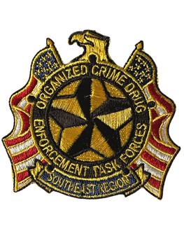 ORGANIZED CRIME DRUG ENFORCEMENT TASKFORCE POLICE PATCH