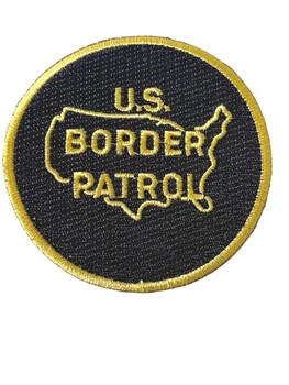 US BORDER PATROL #1 POLICE PATCH