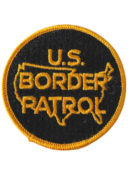 US BORDER PATROL #2 POLICE PATCH