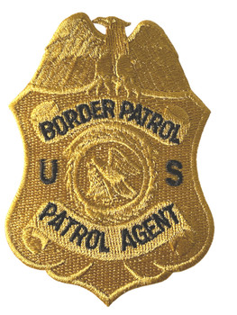 US BORDER PATROL AGENT POLICE BADGE PATCH