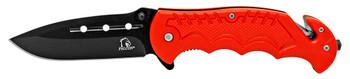 """4.5"""" Spring Asst. Tactical Folding Pocket Knife - Red SHIP FREE"""