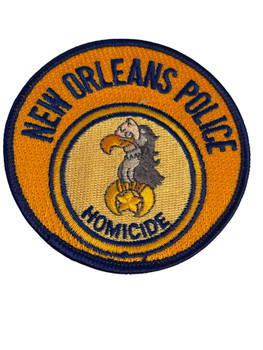 NEW ORLEANS  POLICE HOMICIDE LA PATCH FREE SHIPPING!