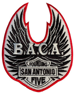 BIKERS AGAINST CHILD ABUSE PATCH FREE SHIPPING!
