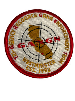 WESTMINISTER GANG  CA PATCH