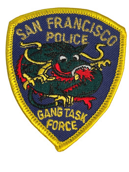 SAN FRANCISCO GANG TASK FORCE CA PATCH