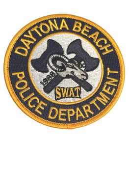 DAYTONA BEACH POLICE FL SWAT PATCH FREE SHIPPING!