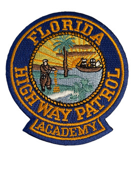 FLORIDA HIGHWAY PATROL ACADEMY FL PATCH FREE SHIPPING!