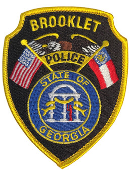 BROOKLET POLICE GA PATCH FREE SHIPPING!