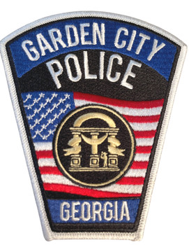 GARDEN CITY POLICE GA PATCH FREE SHIPPING!