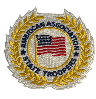 AMERICAN ASSOCIATION OF STATE TROOPERS  PATCH FREE SHIPPING!