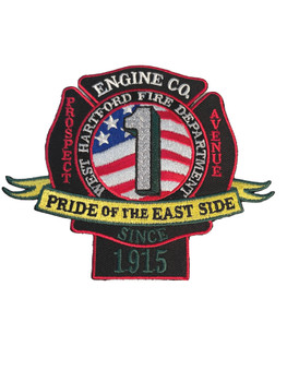 WEST NEW HARTFORD FIRE  PATCH FREE SHIPPING!