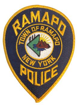 RAMAPO  NY POLICE PATCH FREE SHIPPING!