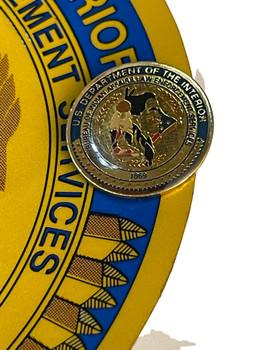 U.S. Dept. of the Interior Bureau of Indian Affairs Decal & Pin