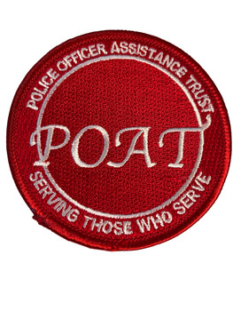 POAT POLICE OFFICERS ASSISTANCE TRUST FL PATCH FREE SHIPPING!