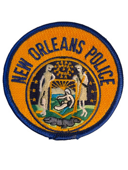 NEW ORLEANS POLICE LA  PATCH SMALL  FREE SHIPPING!