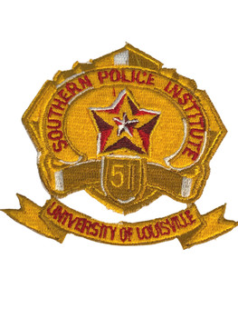 SOUTHERN POLICE INSTITUTE  PATCH FREE SHIPPING!