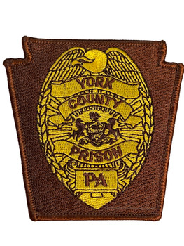 YORK COUNTY PRISON PA PATCH FREE SHIPPING!